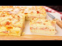 Baking Recipes, Diet Recipes, Bacon, Empanadas, Cornbread, Vanilla Cake, Sandwiches, Pan Sandwich, Tapas