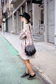 Proenza Schouler PS1 Mini Fringe Shoulder Bag Blogger Courtney Trop