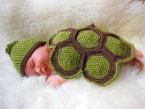Häkelanleitung Baby Kostüm/outfit Schildkröte