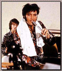 1970 7 15 Elvis In Rehearsal, International Hotel Las Vegas, NV