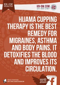 Hijama Cupping Therapy Best Remedy Migraines Asthma Body Pains Detoxifies Blood Improves Circulation