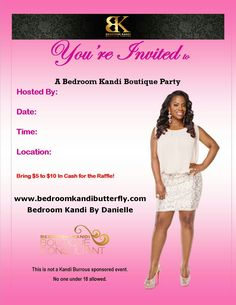 Stressed out? It's time for you to book a Bedroom Kandi Party! #havefun #livelife