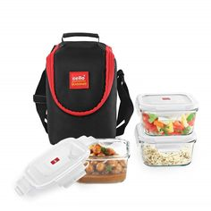 Buy Online This Seal O Fresh Glass Lunch Box At Affordable Price in India! Kitchen Storage Containers, Lunch Containers, Lunch Boxes, Amazon Sale, Cello, Best Sellers, 3 Piece, Fresh, Kitchen Tools