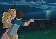 dancing studio ghibli ghibli when marnie was there omoide no marnie #gif from #giphy