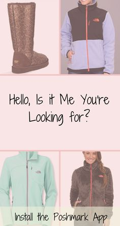 On a budget, but want to look on point? Now you can! Shop Hunter, MAC, North Face, UGG and other brands at up to 70% off. Click image to get FREE app now. As seen on MTV News & Good Morning America.