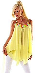 Oversized Long-Tunika BOLIVIA - Hippie-Style - Zipfelbluse
