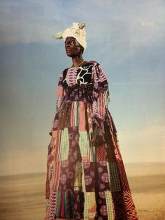 The Herero tribe Namibia Fantastic patchworks