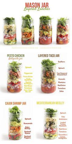 18 #Mason Jar #Salad