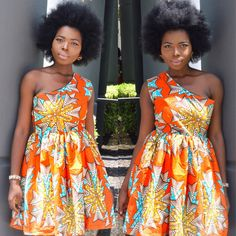 African print dress Ankara dress African clothing by Shoplolaster