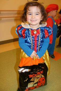 Little ghosts and goblins at our Children's Treatment Centre received a surprise on Halloween from our Health Records staff! All dressed up, staff gave out goodie bags and brought smiles to the faces of all the children in the CTC - some who won't be able to go out for Halloween this year because they are spending time in hospital. Halloween This Year, Goodie Bags, Ghosts, Going Out, Centre, Dress Up, Faces, In This Moment, Children