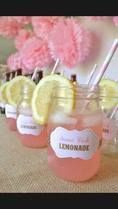 Image via We Heart It #juice #lemonade #lemons #perfect #pink #summer #treat #forthehotdays