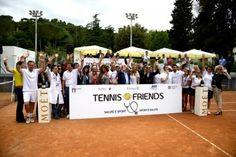 Politica, istituzioni, mondo dello sport e dello spettacolo, tutti uniti al richiamo dihttp://www.tennisandfriends.it/per testimoniare il...