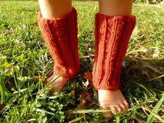 Handmade baby leg warmers (KHBC Auction)