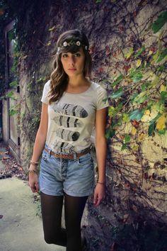 @Megan McCrary - Photo: @Jenna Marie - #BrineSupply - Feather Design - Psalm 63:7 - www.brinesupply.tumblr.com