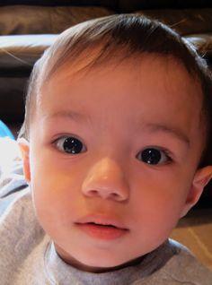 1/2 Filipino, 1/2 white baby <3 mine all mine