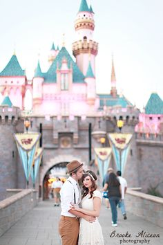 Disneyland Photography, Disneyland Engagement, Disneyland, Brooke Aliceon Photography, 20's, Vintage