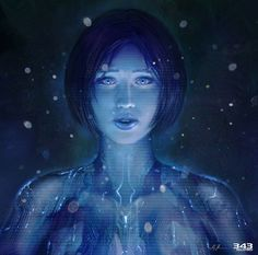 Halo 4 Art & Pictures,  Cortana Vinyl Cover Art