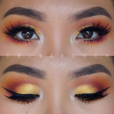 eeeeks I'm a little rusty  I haven't worn colorful eyeshadow in almost a month…