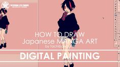 ✔ Digital Painting   How to draw Manga Art 2017.11.18