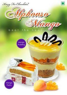 Beat the heat of summer with our exclusive Alphonso Mango items !!! #KrazyForChocolates #ForumCourtyard — looking for dessert at Forum Courtyard.