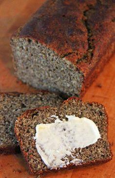 """Jo and Sue: Gluten Free Dark """"Rye"""" Bread (no yeast)"""