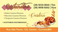 Trabalho feito para Cristina - Quitandas