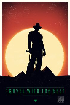 Travel with the best (Indiana Jones) by crqsf on deviantART