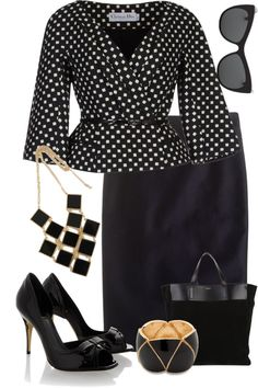 """""""Dressy Buisness"""" by staciegh ❤ liked on Polyvore"""