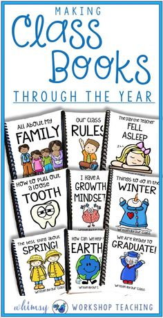 Are you teaching writing or Writers Workshop in grade one or grade two? Class books are such a meaningful way to help! Read about more ways to organize writers workshop, tons of writing prompts and inspiration, and no prep writing centres for Kindergarten, first grade, and second grade! Teaching writing in primary grades can be so much easier with the right resources!