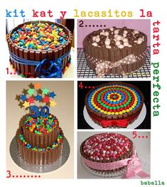 sweet friday: mi tarta que no es tarta- fake cake Torta Candy, Candy Cakes, Celebration Day, Fake Cake, Candy Party, Pretty Cakes, Fondant Cakes, Food Gifts, Cupcake Cookies