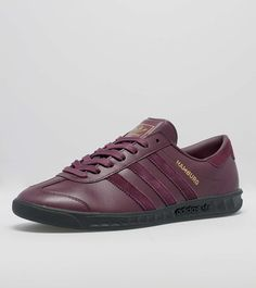 adidas Originals Hamburg: Black/White | Sneakers: adidas ...