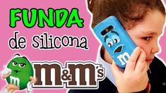 FUNDA de silicona para movil M&M's * FUNDAS CASERAS originales