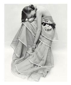 Norman Parkinson, Tiered Evening Dress March, Jean Patchett, 1951