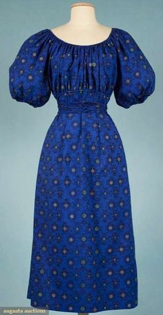 Claire Mccardell Day Dress, 1950, Augusta Auctions, November 2009 Museum Fashion & Textile Sale, Lot 228
