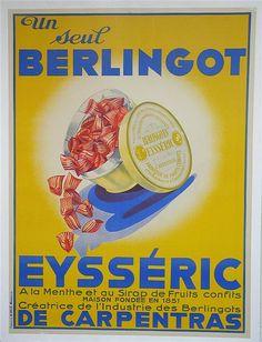 Berlingot Eysséric de Carpentras - 1930's -