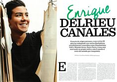 Delrieu Canales - revista Caras @delrieucanales @caras