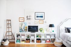 """Loft interior design from """"The Emerald Studio"""" in Seattle, WA Loft Interior Design, Interior Decorating, Interior Styling, Small Space Living, Living Spaces, Living Room, Living Area, Seattle, Gravity Home"""