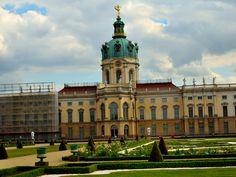 Charlottenburg Palace, 1695-1713, by Johann Arnold Nering, Berlin, Germany