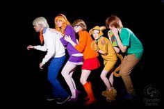 Scooby Doo Gang - 2014-12-21 - Ressaca Friends 2014