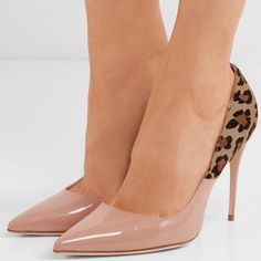469f04239e 'Lorenzo' leopard-print calf hair and patent-leather pumps. Your Next Shoes  · Jennifer Chamandi Shoes for Women · '