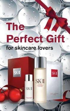 Searching for the perfect gift this holiday?  Now you can enjoy three of SK-II's bestsellers for only $99.