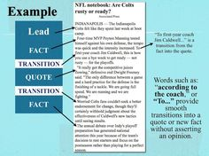 Common Core ELA Writing: Unbiased/Objective Transitions for Summaries, Essays, News Writing