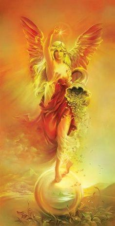 @solitalo Hoy conecto desde mi corazón con el Arcángel Uriel y los ángeles de la abundancia para que me guíen en el camino de la prosperidad, la abundancia y el suministro. Gracias Padre/Madre porq...: