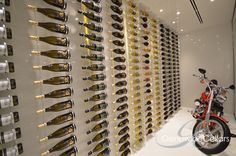 Floating wine storage trend to be showcased at KBIS 2017