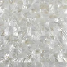 mother of pearl no grout tile - Google Search