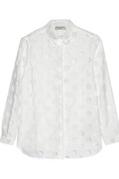 81ad9501442 BURBERRY LONDON Fil coupé shirt.  burberrylondon  cloth  shirt White  Camisole Top