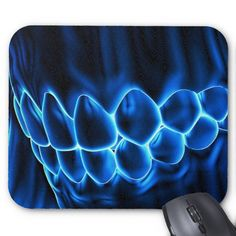 Dental art mouse pads