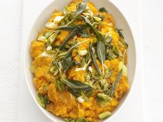 Sweet Potato Mash from FoodNetwork.com - The fall filling for my whole wheat crepes!