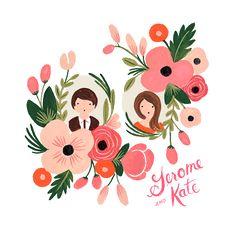 Peach & Rose