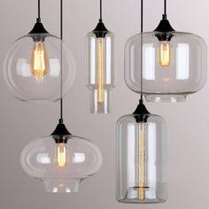 Art Deco Glass Pendant Lights